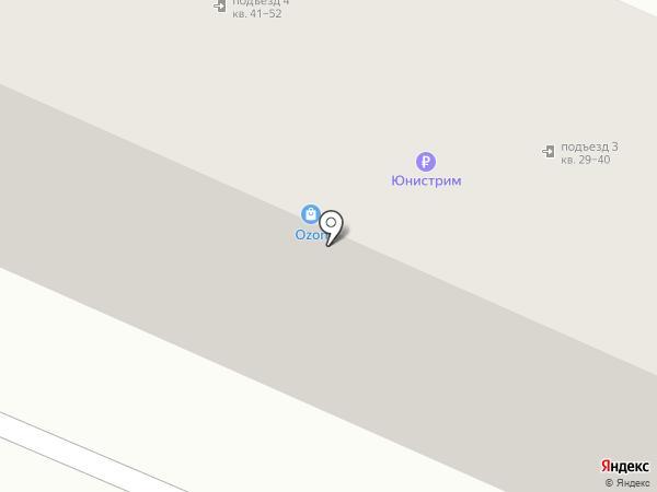 Любава на карте Брянска