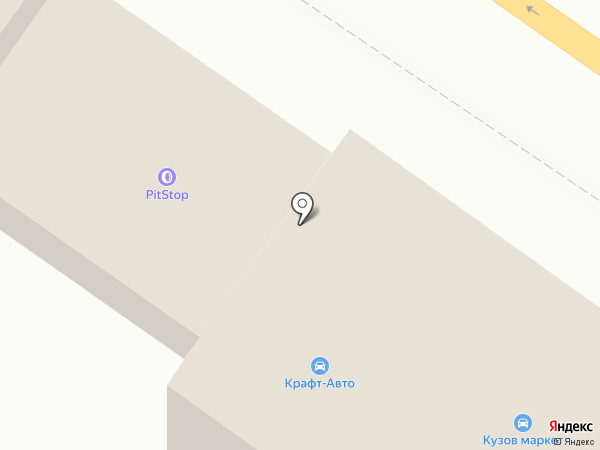 Магазин автозапчастей на карте Брянска