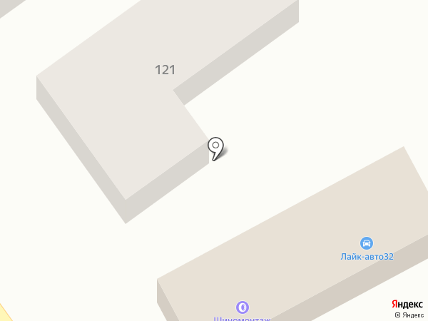 Лайк-авто на карте Брянска