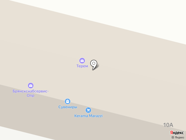 НЛМК Черноземье на карте Брянска