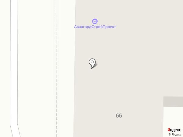 АвангардСтройПроект на карте Брянска