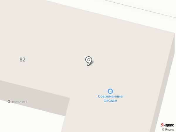 Современные фасады на карте Брянска