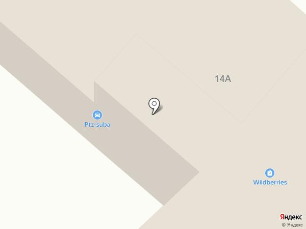 СДЮСШОР №1 на карте Петрозаводска