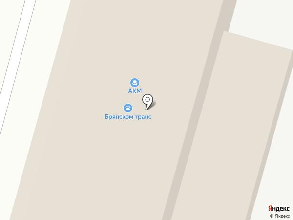 Столсервис на карте Брянска