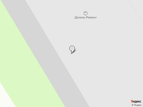 Дизель-Ремонт на карте Брянска