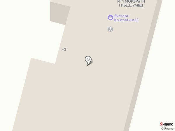 Межрайонный регистрационно-экзаменационный отдел ГИБДД по Брянской области на карте Брянска