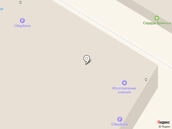 МБ, торговый центр на карте Брянска