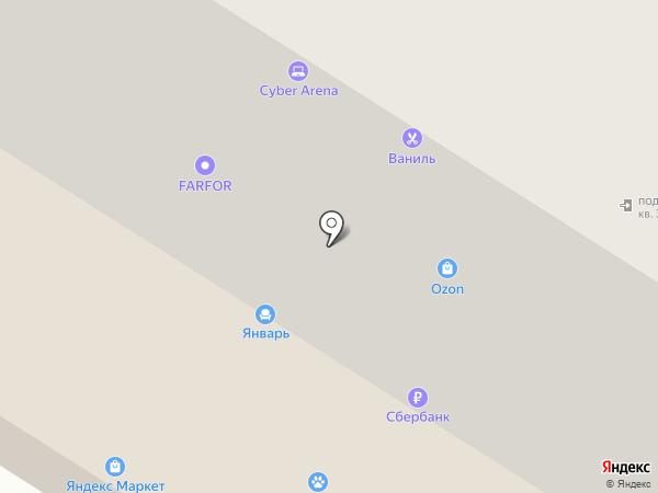 Авто32 на карте Брянска