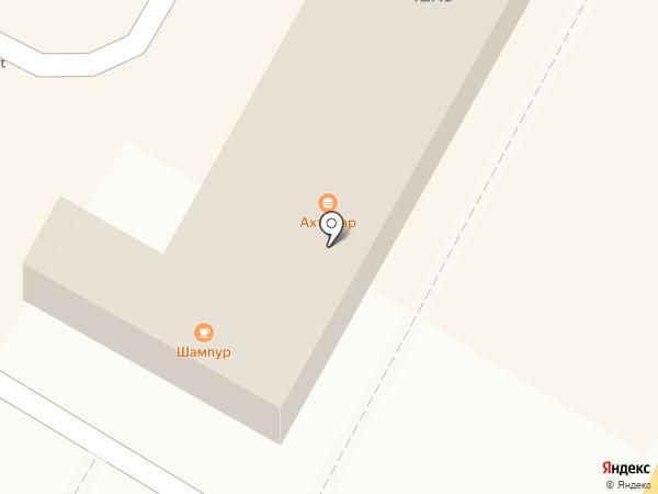 Ахтамар на карте Брянска