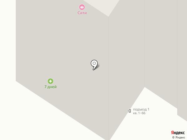 7 ДНЕЙ на карте Брянска