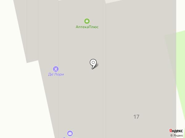 Магазин овощей и фруктов на ул. Чернышевского на карте Брянска