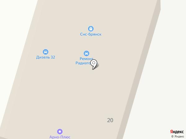 Гранж на карте Брянска