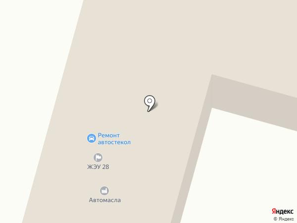Строительный Артель на карте Брянска