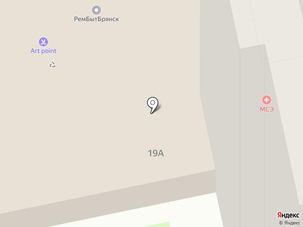 Народный на карте Брянска