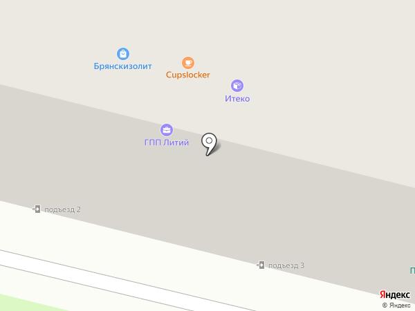 Ратон на карте Брянска