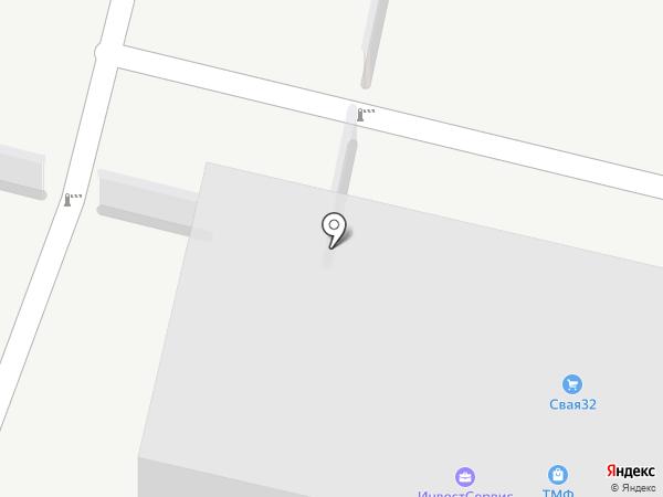 ТЕПЛОГРАД на карте Брянска