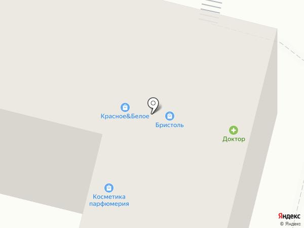 Добрунь на карте Брянска