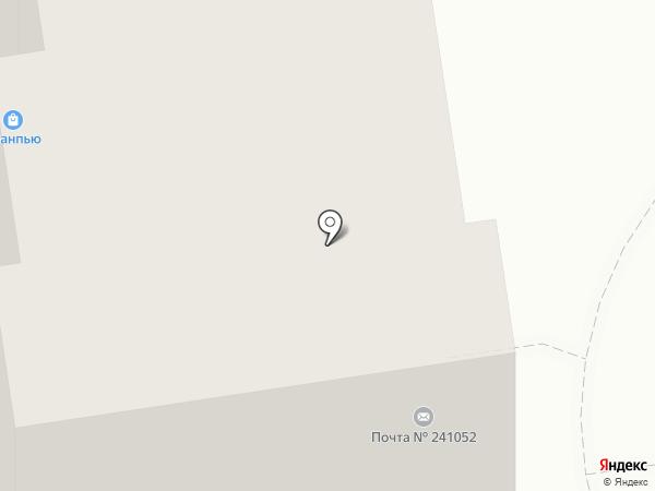 Магазин зоотоваров на карте Брянска