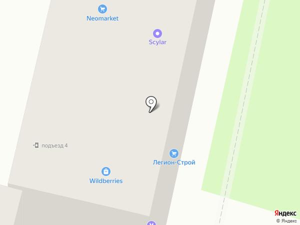 Инесса на карте Брянска