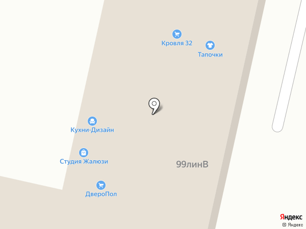 Народная мебель на карте Брянска