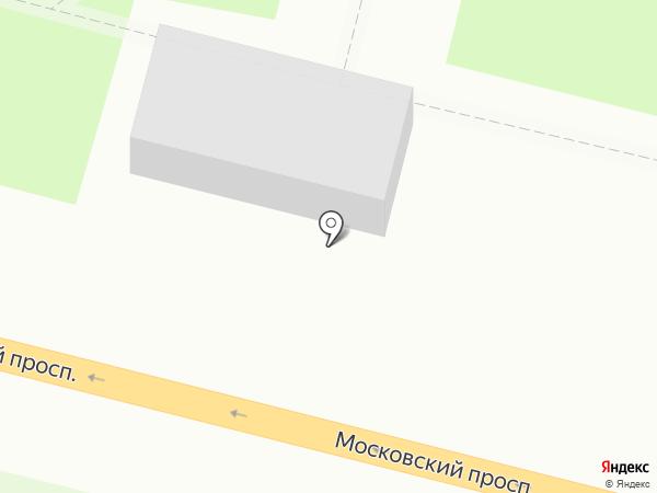 Цветочный дом на карте Брянска