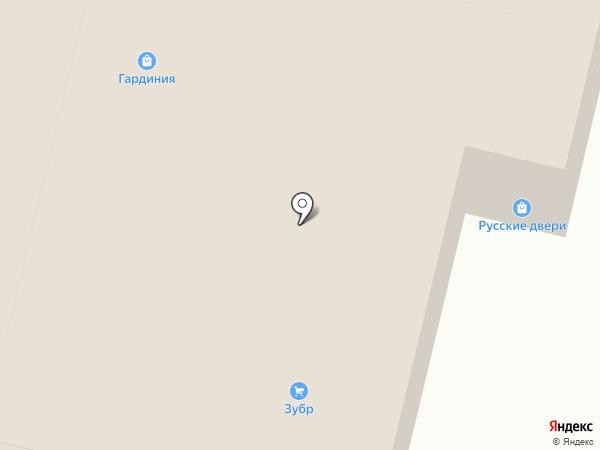 Белый Дом на карте Брянска