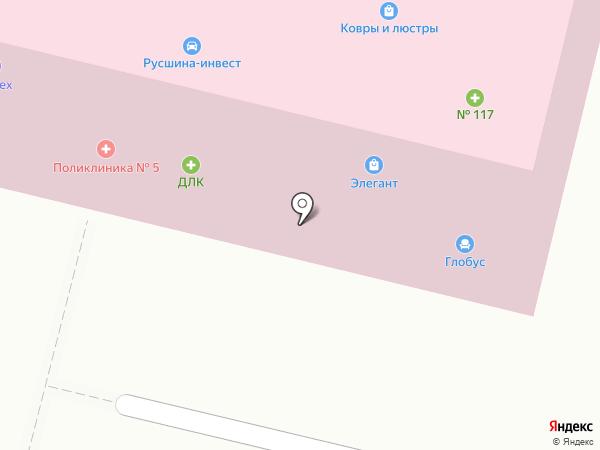 ДЛК на карте Брянска