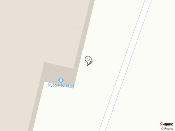 Гардиния на карте Брянска