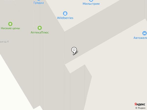 Грядка на карте Брянска