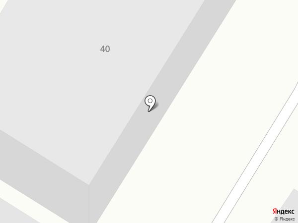 Шашель на карте Брянска