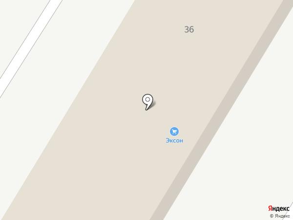Эксон Евробетон на карте Брянска