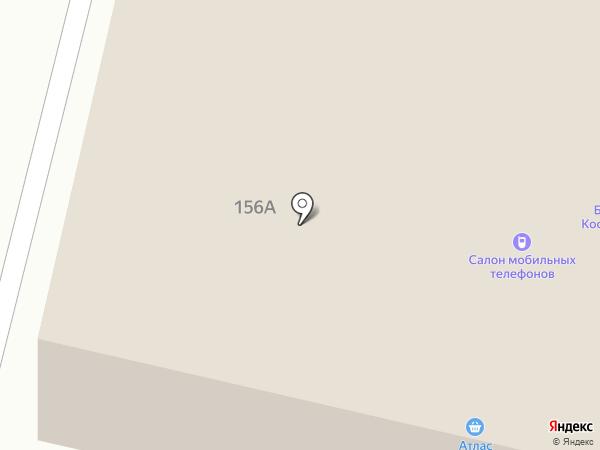 Газёновка на карте Брянска