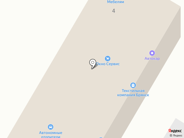 СВ Парк на карте Брянска