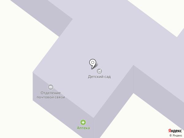 Почтовое отделение на карте Партизанского