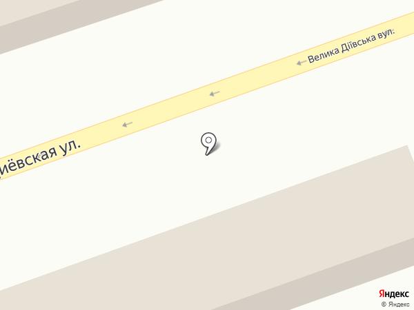 Автозвук на карте Днепропетровска