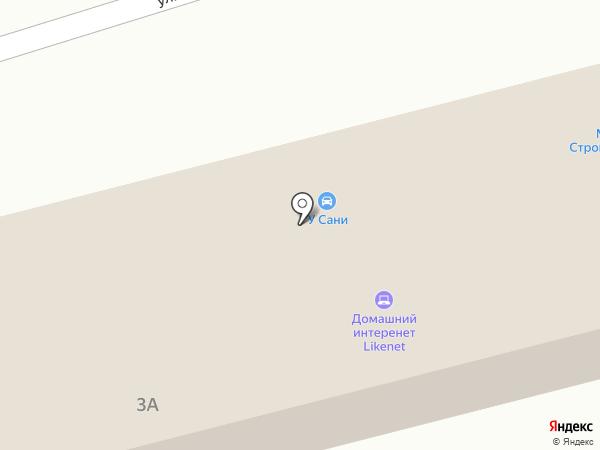 Автомойка на ул. Коробова на карте Днепропетровска