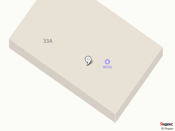 АЗС WOG на карте Днепропетровска