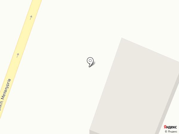 Светлана на карте Днепропетровска