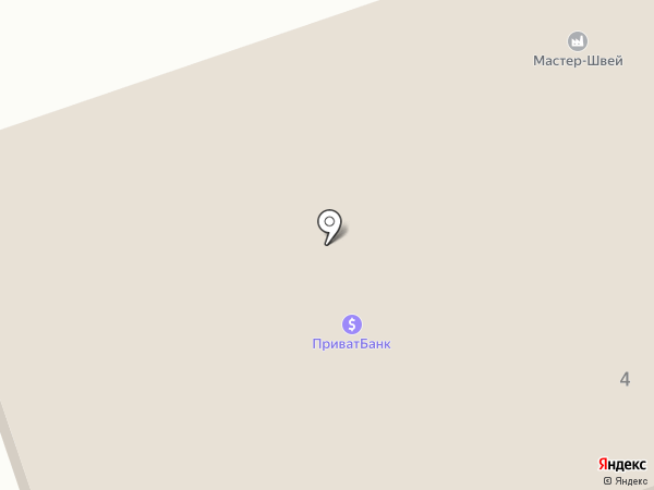 Фотосалон на Донецком шоссе на карте Днепропетровска