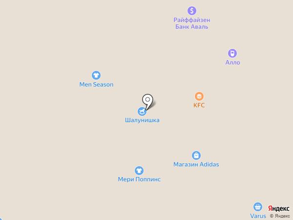 Пан-Спортсмен на карте Днепропетровска