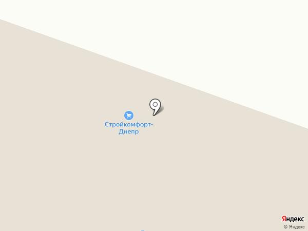 Биллона на карте Днепропетровска