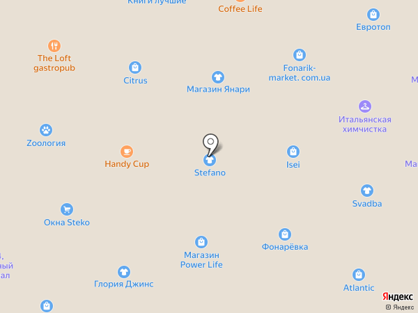 Банкомат, Райффайзен Банк Аваль на карте Днепропетровска