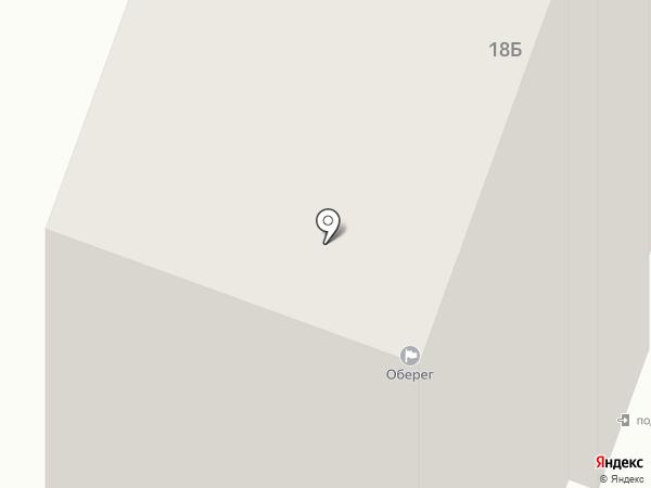 Оберіг на карте Днепропетровска