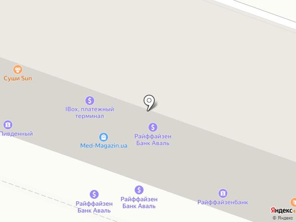 Мастер Сервис на карте Днепропетровска