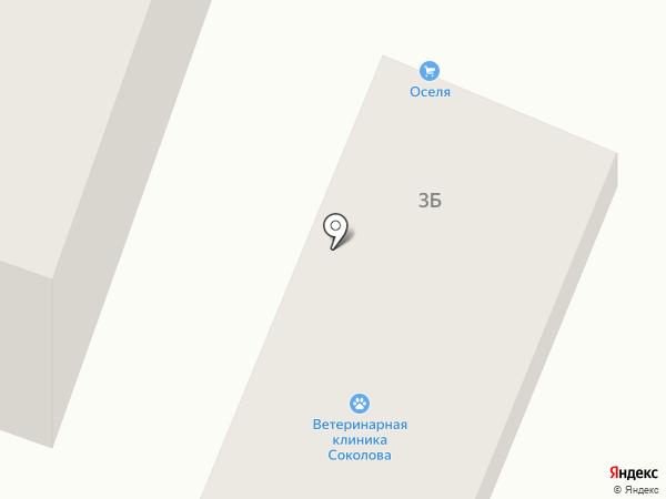 Соколова на карте Днепропетровска