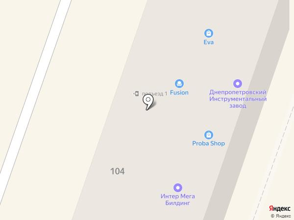 Терминал самообслуживания, КБ ПриватБанк на карте Днепропетровска