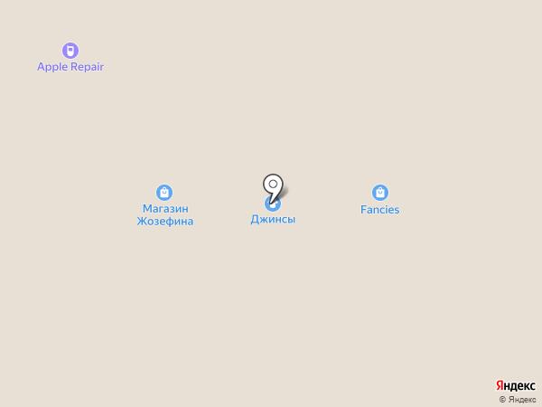 Женская одежда на карте Днепропетровска