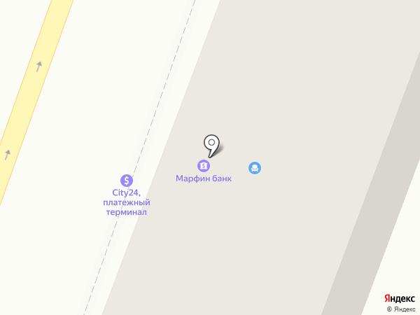 МАРФИН БАНК на карте Днепропетровска
