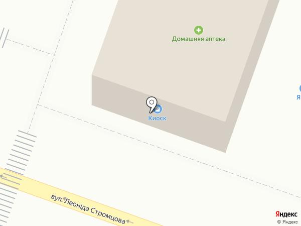 Преса на карте Днепропетровска