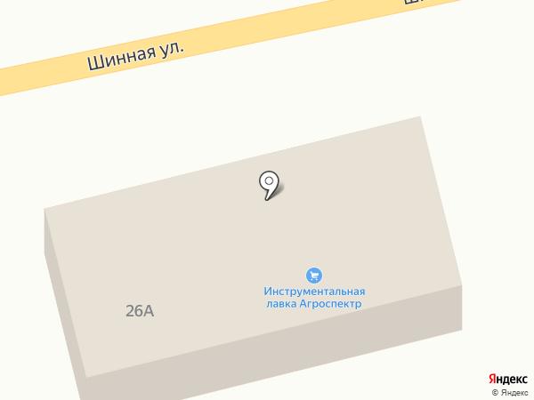 ІНСТРУМЕНТАЛЬНА КРАМНИЦЯ на карте Днепропетровска